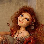 Куклы и игрушки ручной работы. Ярмарка Мастеров - ручная работа Кленовый Листочек - эльф осеннего леса. Handmade.