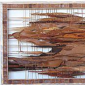 """Картины и панно ручной работы. Ярмарка Мастеров - ручная работа """"Ледниковый период"""". Handmade."""
