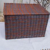 Для дома и интерьера handmade. Livemaster - original item basket with lid. Handmade.
