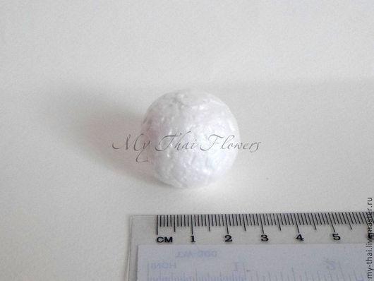 100 шт пенопласт шар 30 мм My Thai. материалы для творчества из Таиланда