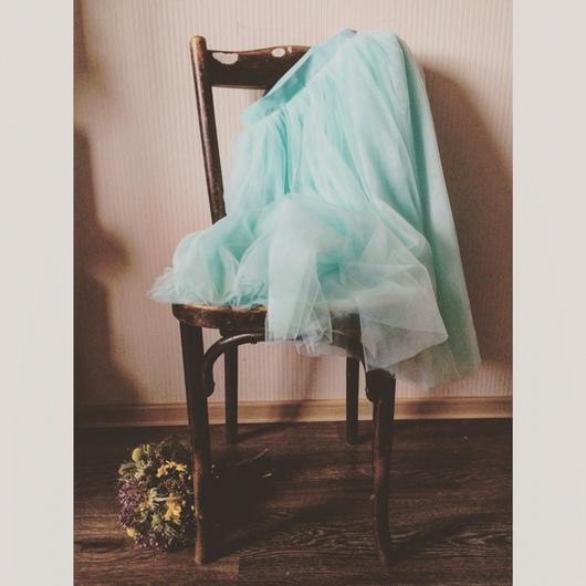 Юбки ручной работы. Ярмарка Мастеров - ручная работа. Купить Фатиновая юбка. Handmade. Пышная юбка, летняя юбка, креп