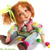 """Куклы и игрушки ручной работы. Ярмарка Мастеров - ручная работа Авторская кукла """"Катя Карамелькина"""". Handmade."""