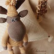 Куклы и игрушки ручной работы. Ярмарка Мастеров - ручная работа Лосенок... А моя елка готова!. Handmade.