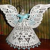 Работы для детей, ручной работы. Ярмарка Мастеров - ручная работа Кружевные ангелы. Handmade.