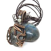 Украшения handmade. Livemaster - original item pendant with Jasper. Handmade.