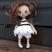 Куклы и пупсы ручной работы. Ярмарка Мастеров - ручная работа Текстильная кукла Маленькая врединка. Handmade.