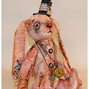Куклы и игрушки ручной работы. Ярмарка Мастеров - ручная работа авторская игрушка заяц  СТАРЫЙ,старый друг.. Handmade.