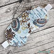 """Одежда ручной работы. Ярмарка Мастеров - ручная работа Маска для сна """"Зонтики"""". Handmade."""