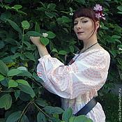 Одежда ручной работы. Ярмарка Мастеров - ручная работа Блуза-крестьянка. Handmade.