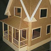 Куклы и игрушки ручной работы. Ярмарка Мастеров - ручная работа Кукольный домик № 3. Handmade.