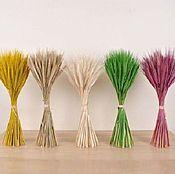 Материалы для творчества ручной работы. Ярмарка Мастеров - ручная работа Букет из пшеницы. Handmade.