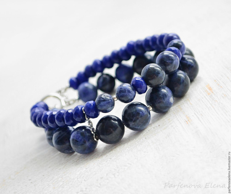 Bracelet 'Twilight reflections', Bead bracelet, Omsk,  Фото №1