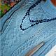 Кофты и свитера ручной работы. Ярмарка Мастеров - ручная работа. Купить Свитер Араны.. Handmade. Голубой, пуловер женский