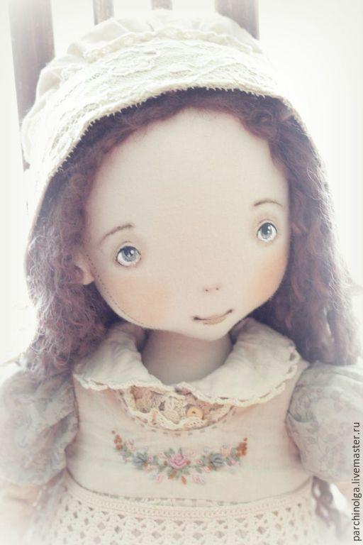Коллекционные куклы ручной работы. Ярмарка Мастеров - ручная работа. Купить Аннушка. Handmade. Кукла ручной работы, винтажный стиль