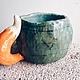 Кружки и чашки ручной работы. лисьи хвосты. Анастасия Морозова (doch-moryaka). Интернет-магазин Ярмарка Мастеров. Зеленый, кружка