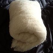 Материалы для творчества ручной работы. Ярмарка Мастеров - ручная работа Шерсть овечья белая. Handmade.