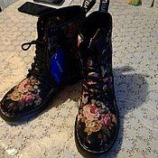 Обувь ручной работы. Ярмарка Мастеров - ручная работа Ботинки Бохо.. Handmade.