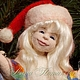 Коллекционные куклы ручной работы. Ярмарка Мастеров - ручная работа. Купить Авторская войлочная кукла Декабрюшка. Handmade. Яркий, зимний