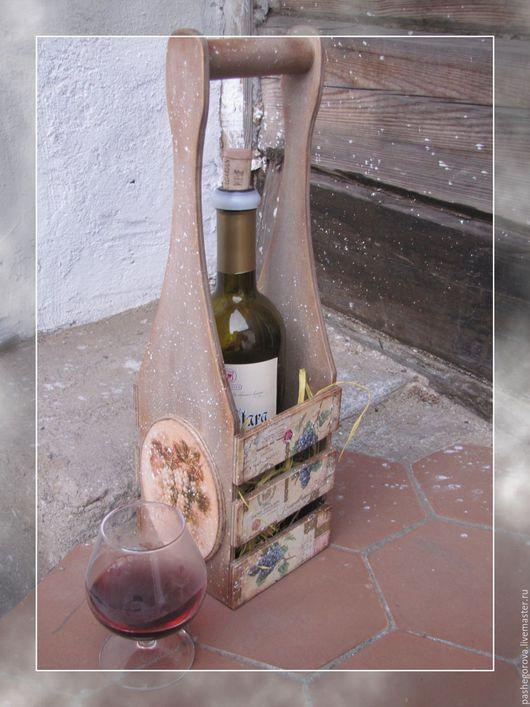 """Кухня ручной работы. Ярмарка Мастеров - ручная работа. Купить Винный короб """"Прованс"""". Handmade. Комбинированный, кухня Прованс, прованс"""