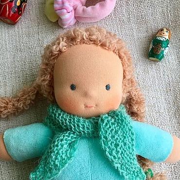Куклы и игрушки ручной работы. Ярмарка Мастеров - ручная работа Сплюшка - Мятный Рыжик. Handmade.