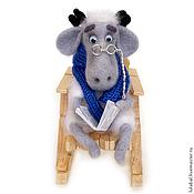 Куклы и игрушки ручной работы. Ярмарка Мастеров - ручная работа Господин Уильямс, валяная игрушка. Handmade.