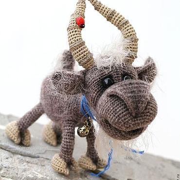 Куклы и игрушки ручной работы. Ярмарка Мастеров - ручная работа Билли - козёл. Handmade.