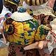 """Коллекционные куклы ручной работы. """"Чайку пошвыркаем?!)""""грелка на самовар. Кукольных дел-мастер Наташа Бабенко (rbrb1969). Ярмарка Мастеров. Самовар"""