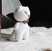 Куклы и игрушки handmade. Livemaster - original item White cat. Handmade.