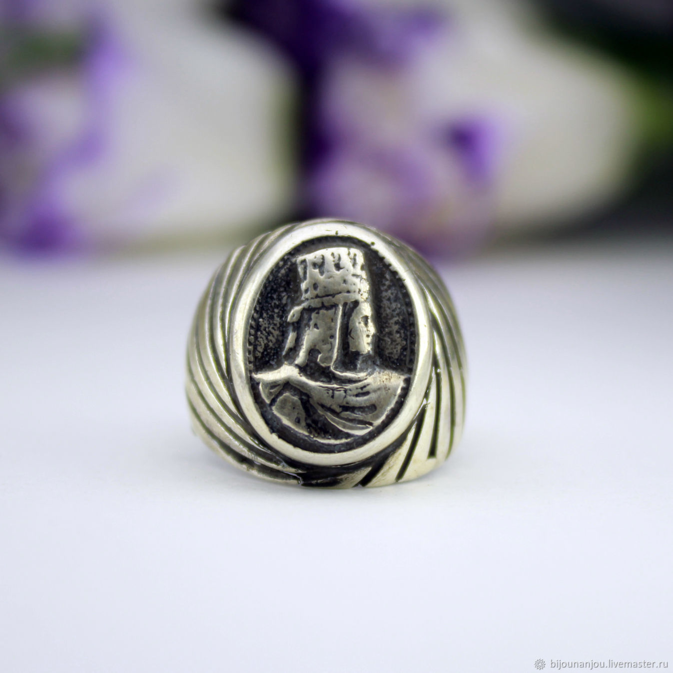 Ring mens coinage of silver 925, Rings, Yerevan, Фото №1