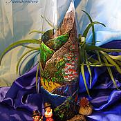 """Для дома и интерьера ручной работы. Ярмарка Мастеров - ручная работа Ваза """"Тенерифе"""". Handmade."""