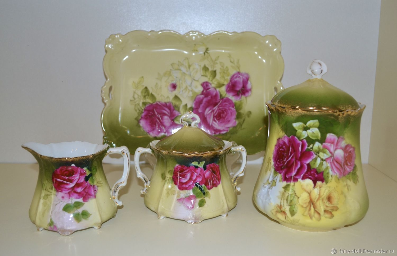 Винтаж: Антикварный чайный набор, Бавария, Сервизы винтажные, Вышний Волочек,  Фото №1