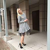 Одежда ручной работы. Ярмарка Мастеров - ручная работа Платье с сеткой. Handmade.