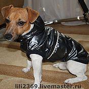 Для домашних животных, ручной работы. Ярмарка Мастеров - ручная работа Дождевик для собаки Жилет. Handmade.