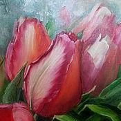 Картины и панно ручной работы. Ярмарка Мастеров - ручная работа Картина Весна. Handmade.