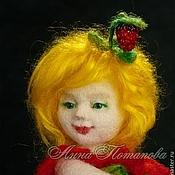 Куклы и игрушки ручной работы. Ярмарка Мастеров - ручная работа Авторская войлочная кукла Июлька. Handmade.