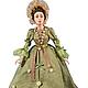 Собирательный образ женской одежды времен Мадам де Помпадур (Франция)