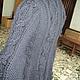 Верхняя одежда ручной работы. Пальто с аранами. ирина гречишкина (irinagrech56). Ярмарка Мастеров. Пальто вязаное, полушерстяная пряжа