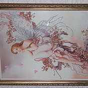 Картины и панно ручной работы. Ярмарка Мастеров - ручная работа Цветочная фея. Handmade.