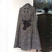 Одежда ручной работы. Ярмарка Мастеров - ручная работа Кейп из твида. Handmade.