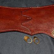 Колчан ручной работы. Ярмарка Мастеров - ручная работа Колчан: КРС 3,5 мм, плоский колчан турецкого типа. Handmade.