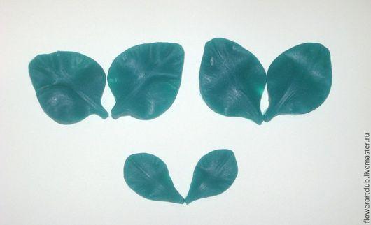 Материалы для флористики ручной работы. Ярмарка Мастеров - ручная работа. Купить Гладиолус 3 лепестка - двусторонние силиконовые молды. Handmade.