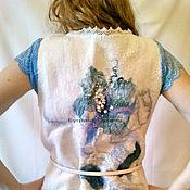 """Одежда ручной работы. Ярмарка Мастеров - ручная работа Валяный жилет """"L"""". Handmade."""