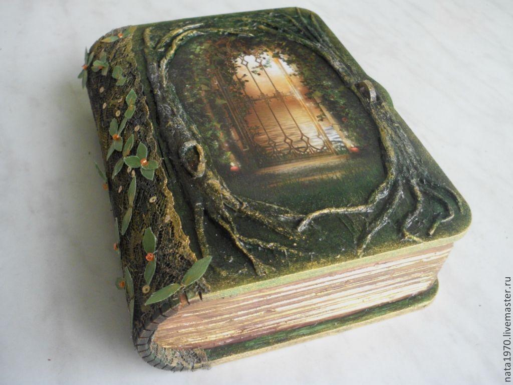 Шкатулка книга мастер класс для новичков #5
