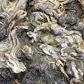 Материалы для творчества handmade. Livemaster - original item Fleece Parental Gray.50 grams. New Zealand. Handmade.