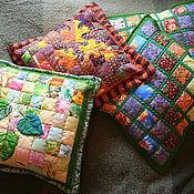 Для дома и интерьера ручной работы. Ярмарка Мастеров - ручная работа наволочки на подушки. Handmade.