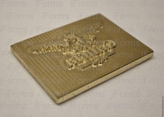 Клише для блинтового тиснения и тиснения с фольгой на бумаге, картоне, коже и других подходящих материалах