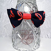 Аксессуары handmade. Livemaster - original item Classic  Bow Tie Kiss / Classic in 2 two pieces / chiffon. Handmade.