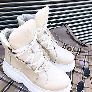 Обувь ручной работы. Ярмарка Мастеров - ручная работа -20% на Ботинки из натуральной кожи ручной работы!. Handmade.