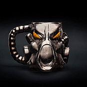 Посуда handmade. Livemaster - original item Mug X-01 Fallout (Fallout) ceramics / faience. Handmade.