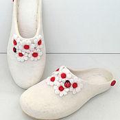 Обувь ручной работы handmade. Livemaster - original item Slippers: